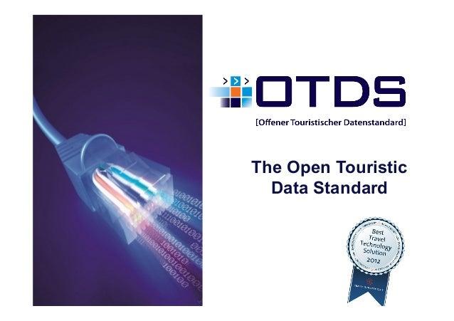 The Open Touristic  Data Standard