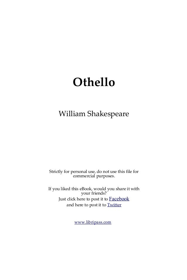 othello modern translation pdf