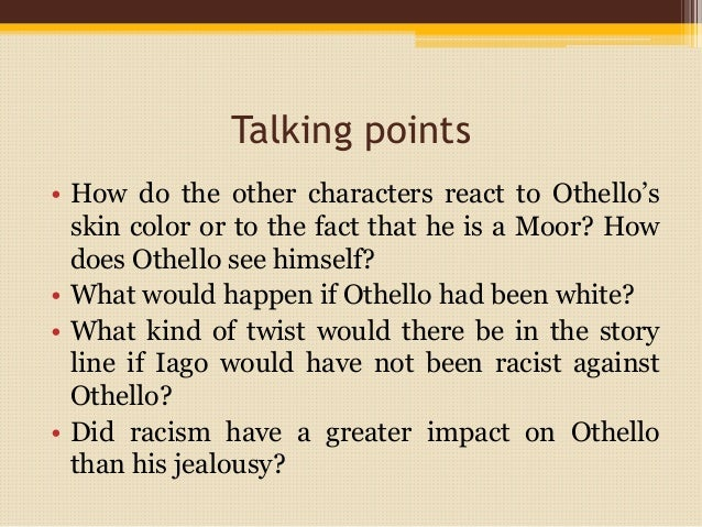 Racism In Othello William Shakespeare