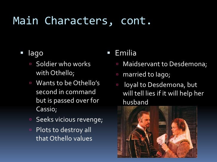 character of emilia in othello