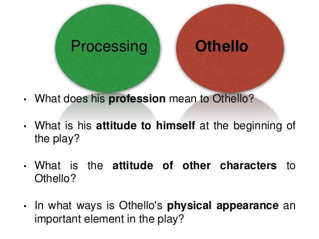 Shakespeare's - Othello: Essay Topics?