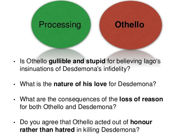 shakespeare play othello essay