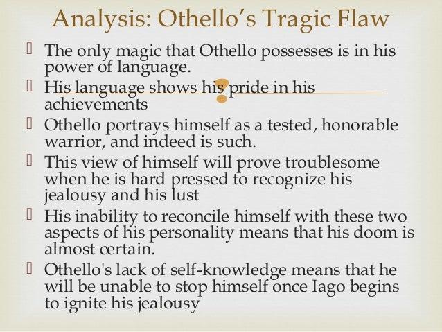 Help with Othello Speech?
