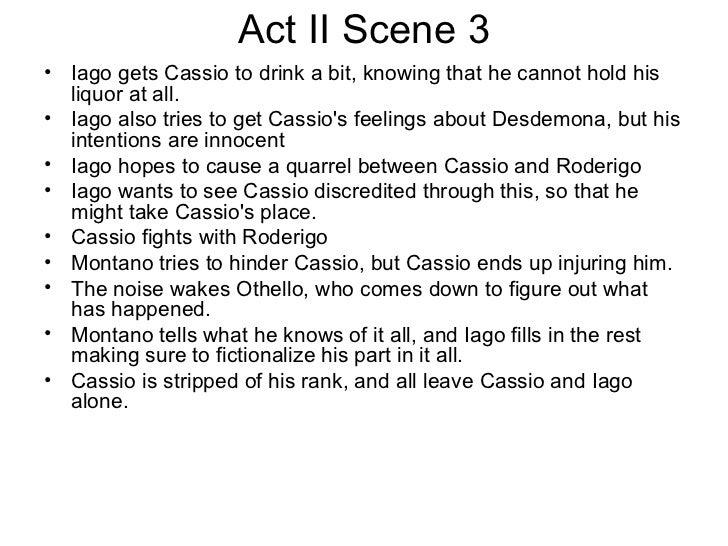 othello act 3 quotes essay