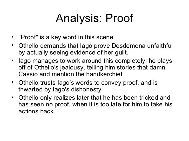 othello essays on trust Start writing remarkable essays with guidance from our expert teacher team why does othello choose to trust iago over desdemona the play othello.