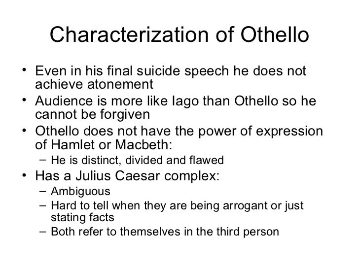 othellos last speech Struggling with the ending of othello don't worry, we're here to tell you what's up with it.