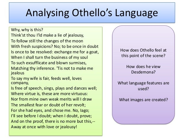 the mood of othello One of shakespeare's more famous plays, 'othello' is a classic tragedy featuring love, jealousy, and ultimately, death in this lesson, we will.