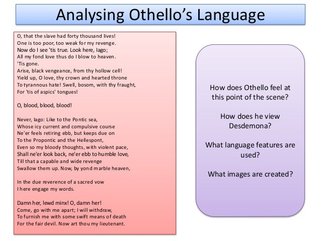 othello 11 essay Essays and criticism on william shakespeare's othello - suggested essay topics.