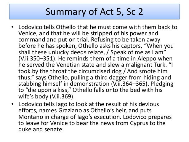 the transformation of othello essay