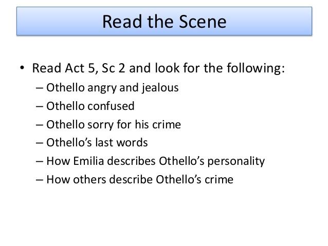 Othello - A Tragic Hero Essay