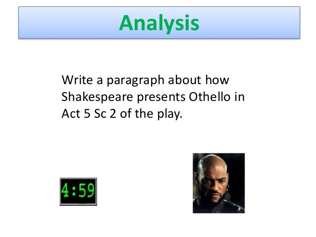 othello anger essay
