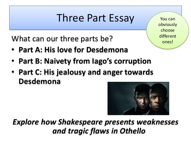 Othello tragic hero essay