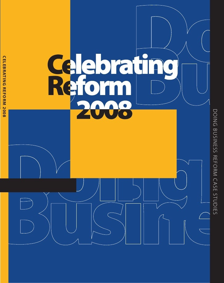 Celebrating Business Reform 2008