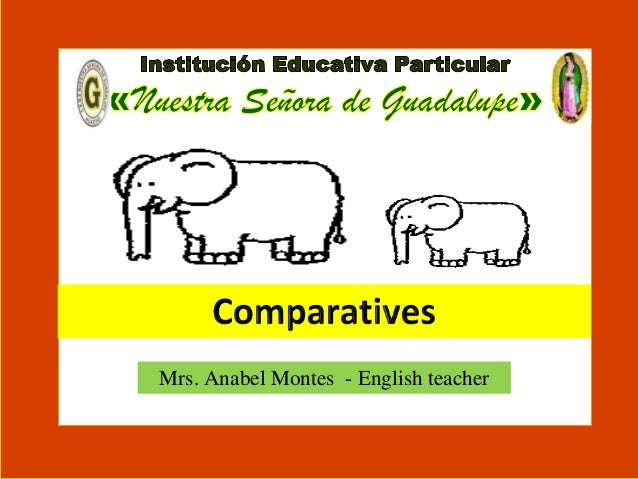 Other comparative words 5to