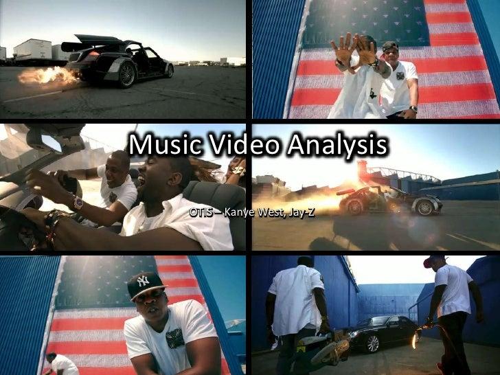 OTIS Music Video Analysis