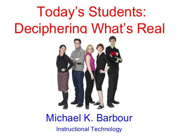 Wayne State University - Today's Student: Deciphering What's Real