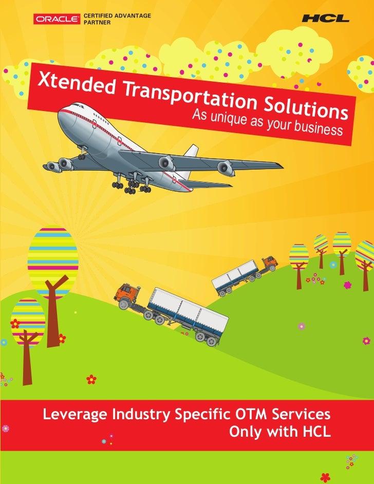 Extended Transportation Solutions
