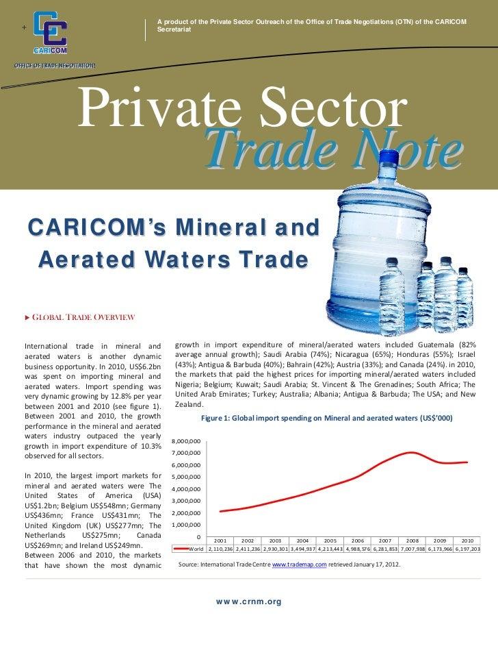 OTN - Private Sector Trade Note - Vol 2 2012