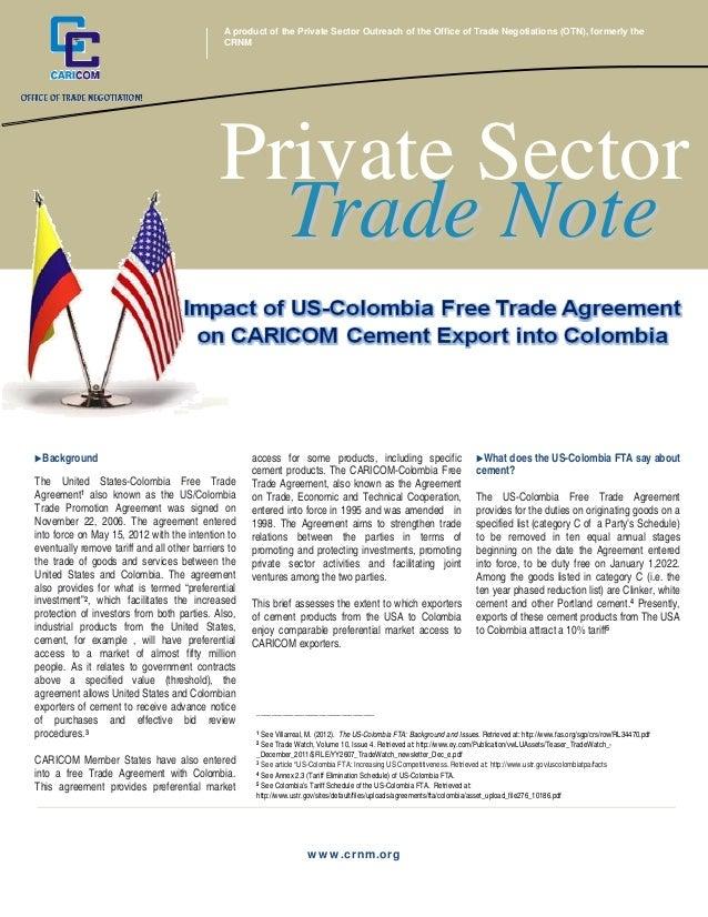 OTN - Private Sector Trade Note - vol 4 2013