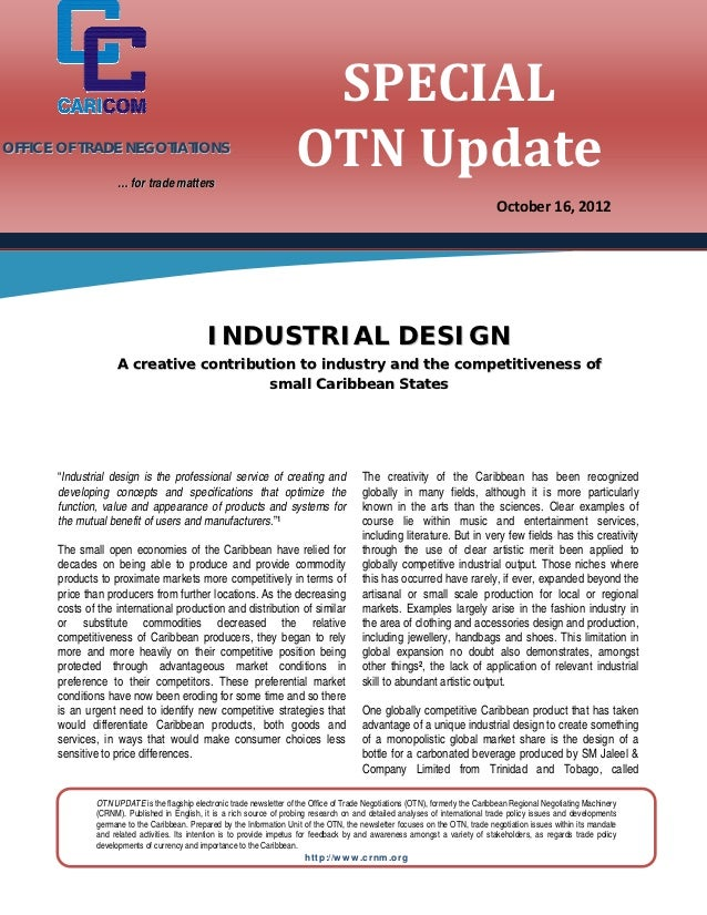 SPECIAL	                                                                       OTN	Update	               OFFICE OF TRADE N...