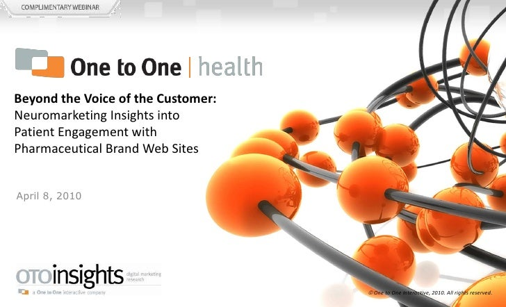 OTOinsights / One to One Health - Allergy Webinar - Apr 8 2010