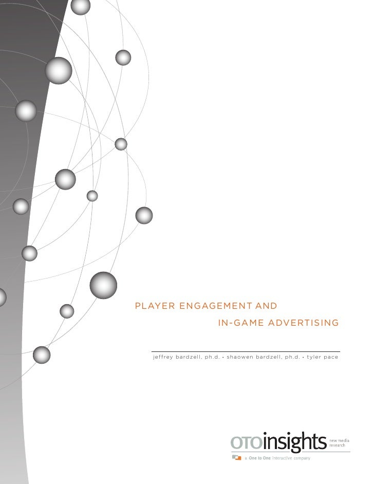 "OTOinsights ""Player Engagement with In-Game Advertising"""