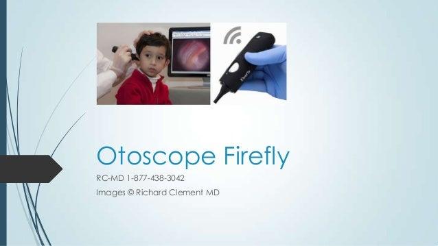 Otoscope firefly english