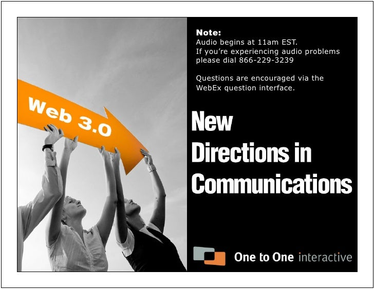 New Directions in Communication