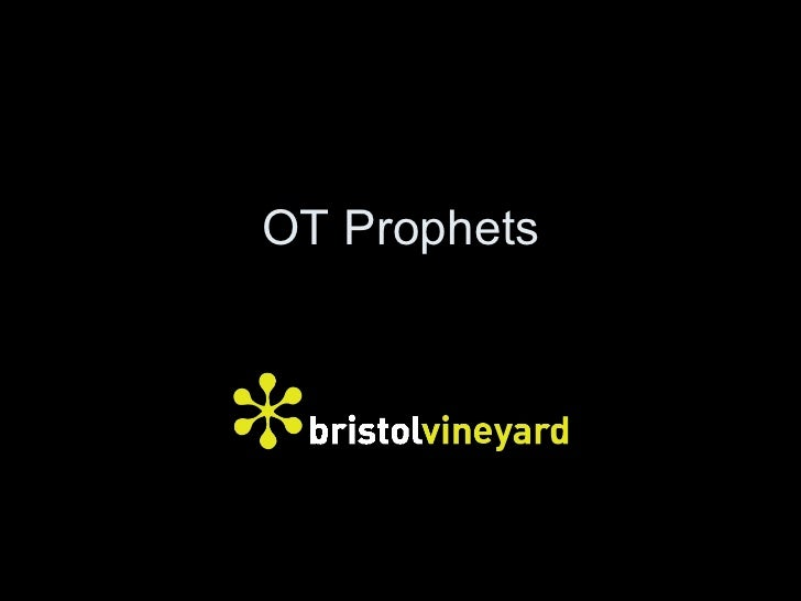 Through the Bible - Old Testament Prophets