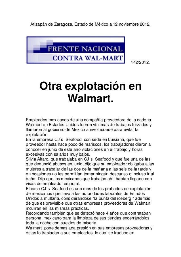 Atizapán de Zaragoza, Estado de México a 12 noviembre 2012.                                                      142/2012....