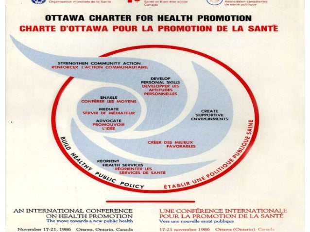 ottawa charter Free essay: describe the historical significance of the ottawa charter for health promotion the ottawa charter first came into existence at the first.