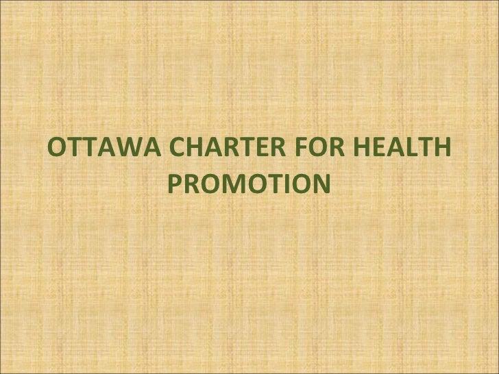 ottawa charter Joet garcia, mayor of balanga, philippines presented a keynote address at the  2015 international conference on health promoting.