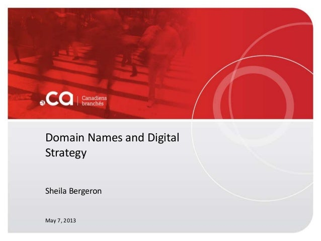 Ottawa Search & Digital Marketing Meetup - Sheila Bergeron Presentation - CIRA