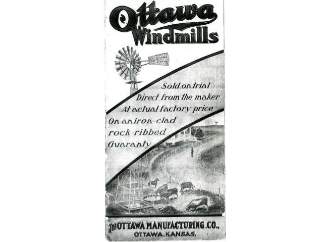 Ottawa windmill catalogue