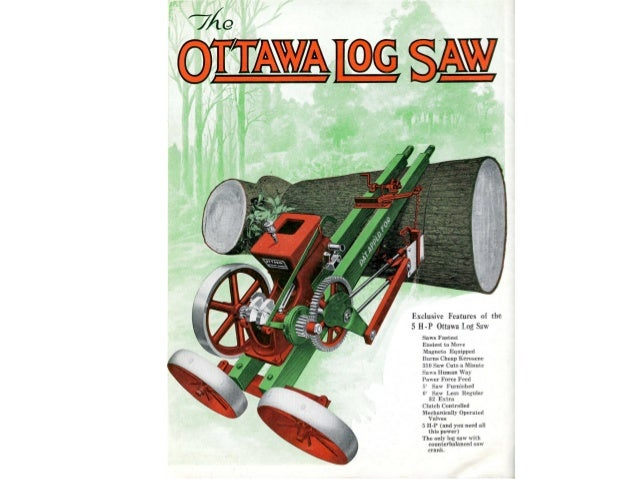 Ottawa wood sawing encyclopedia part 1