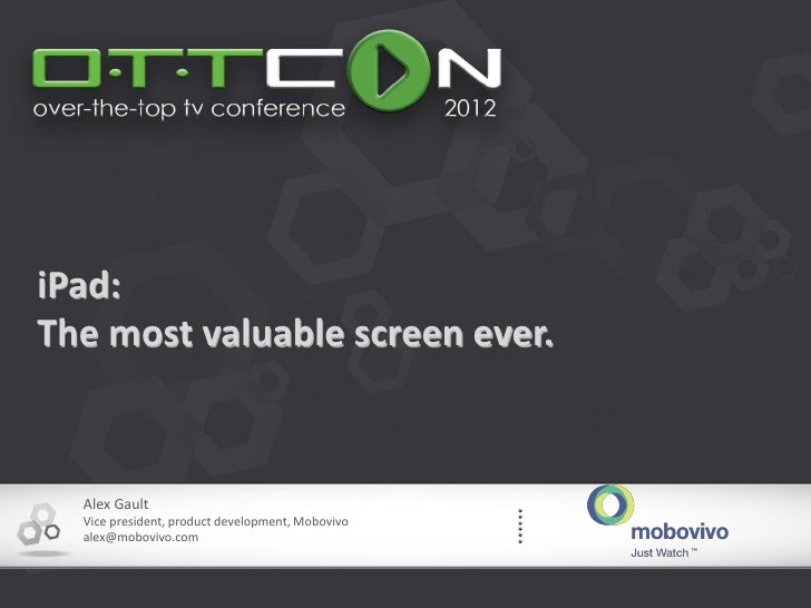 iPad: The Most Valuable Screen Ever for TV & Film Producers