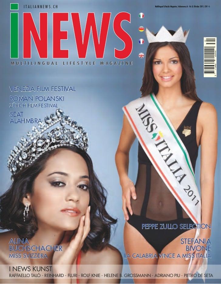 italiannews.ch                                                 Multilingual Lifestyle Magazine, Italiannews.ch - Nr. 8, Ok...