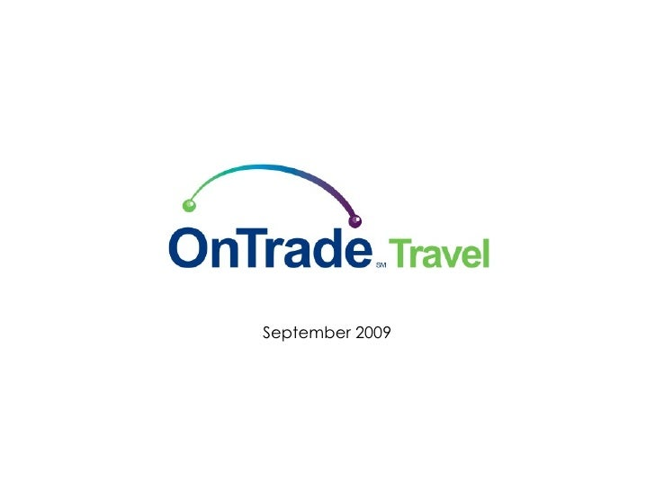 OnTrade Travel Introduction 04282010