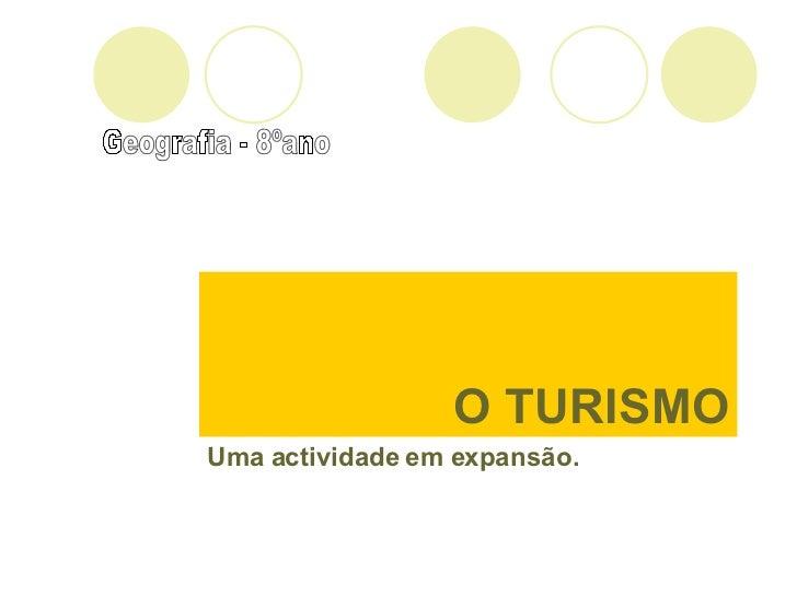 O Turismo