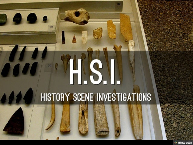 Otzi History Scene Investigations
