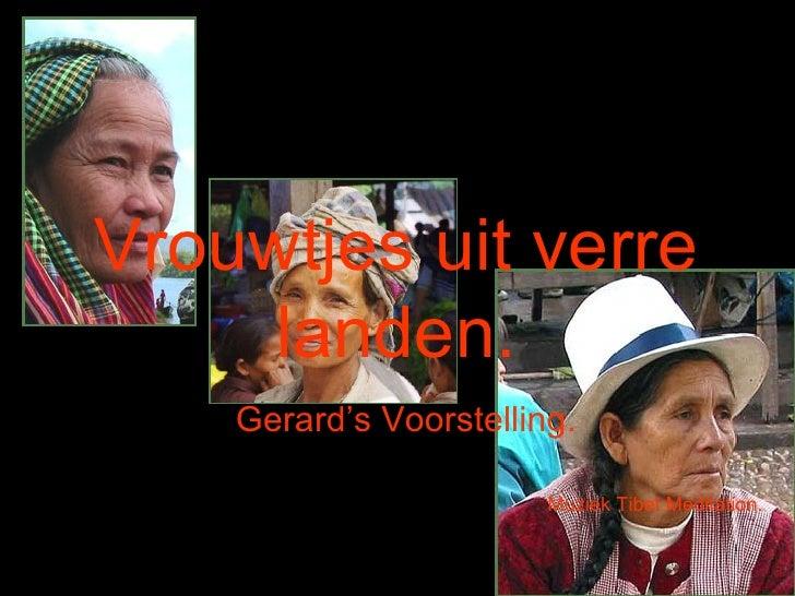 Oude Vrouwen Uit Verre Landen (Gerard)