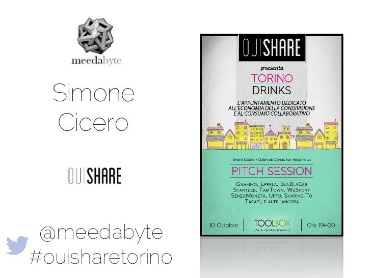 Ouishare Drink Torino 10th of October 2012