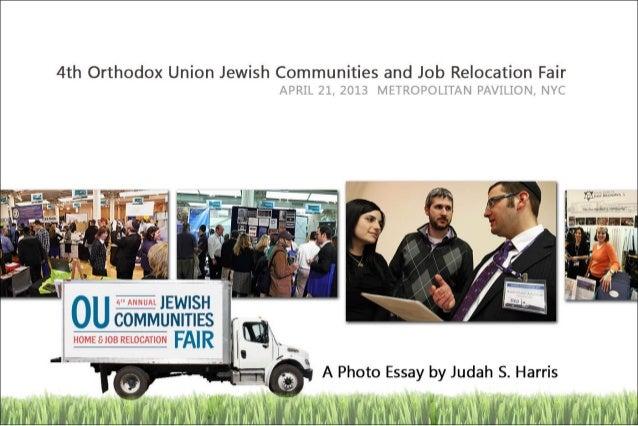 Orthodox Union 4th Jewish Communities Fair