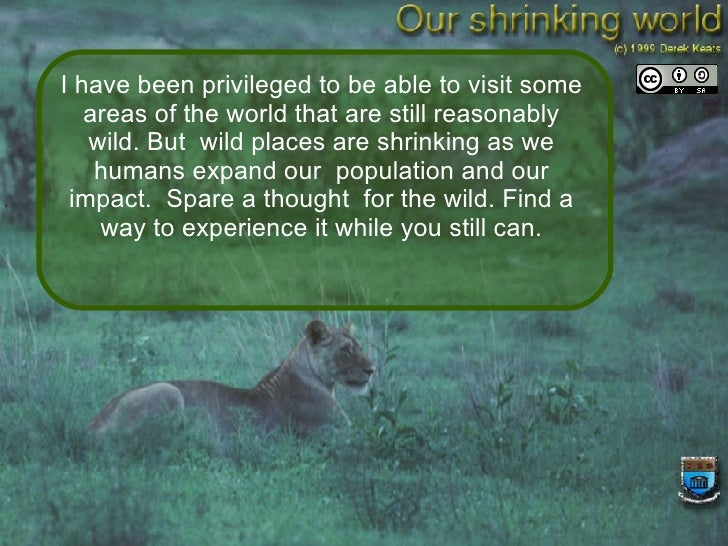 Our Shrinking World