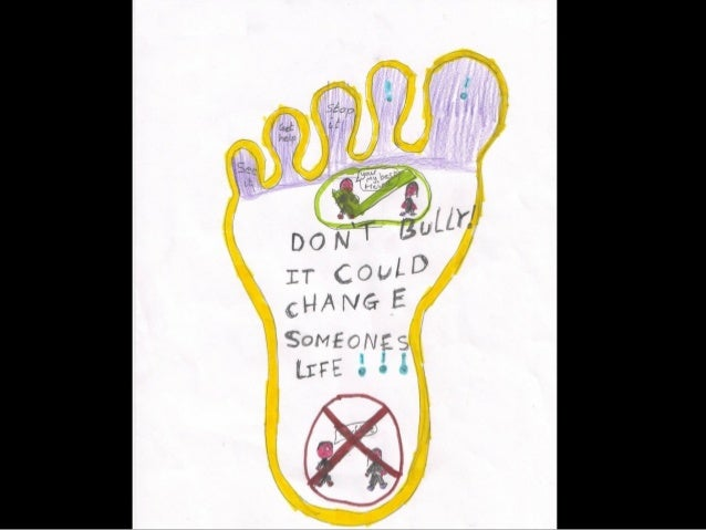 Our anti bullying posters