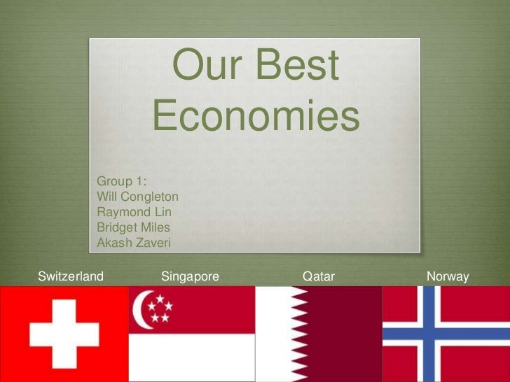 Our Best Economies<br />Group 1:<br />Will Congleton<br />Raymond Lin<br />Bridget Miles<br />AkashZaveri<br />Singapore<b...