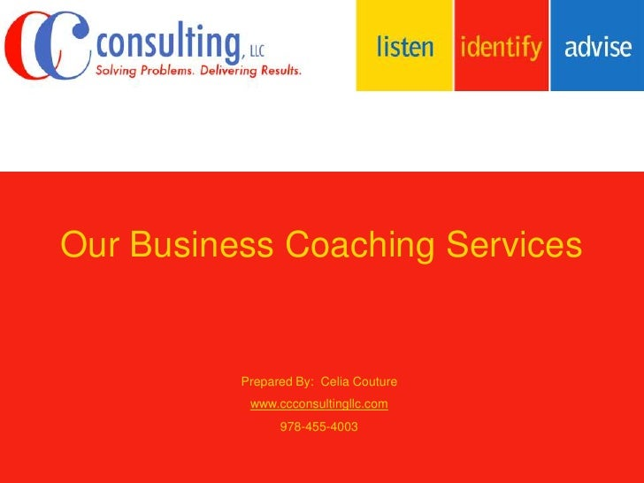 Our Business Coaching Services
