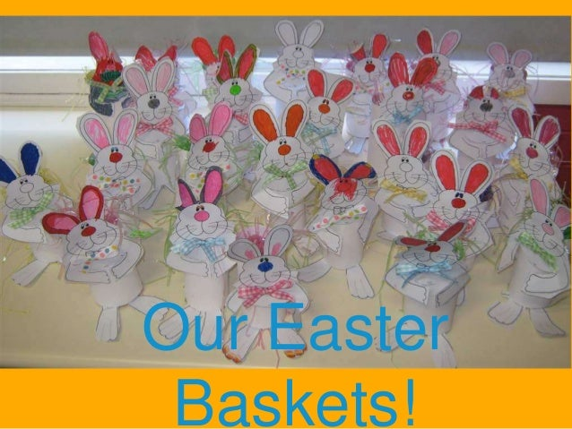 Double-click to enter title  Our Easter Baskets!