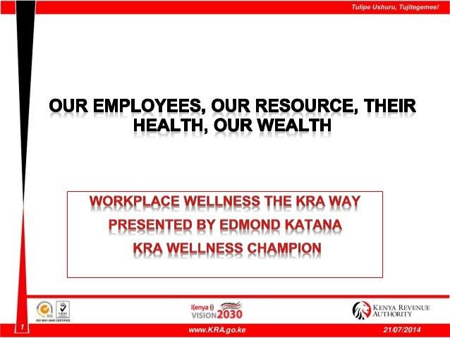 1 www.KRA.go.ke 21/07/2014