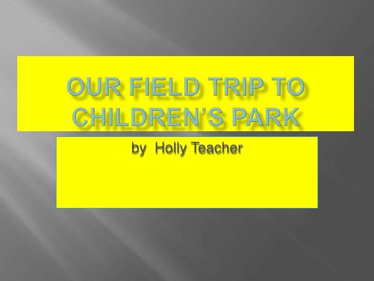 by Holly Teacher